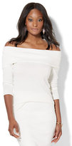 New York & Co. 7th Avenue - Off-The-Shoulder Sweater