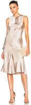 Calvin Klein Collection Lamica Silk Satin Gown
