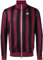 Kappa stripe zipped jacket