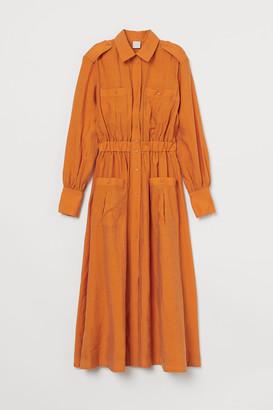 H&M Calf-length Shirt Dress