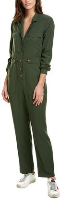 Astr The Label Siobhan Linen-Blend Jumpsuit