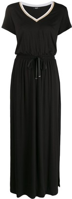 Liu Jo drawstring-waist maxi T-shirt dress