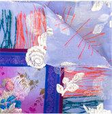 Etro floral print scarf - women - Silk/Metallic Fibre - One Size