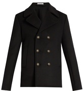 Tomas Maier Double-breasted Wool-blend Coat