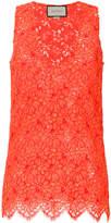 Gucci v-neck floral blouse