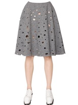J.W.Anderson Felted Wool Skirt