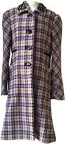 By Malene Birger Purple Wool Coat for Women