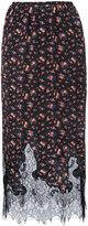 McQ by Alexander McQueen floral print skirt