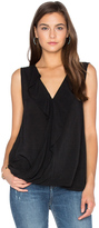 Velvet by Graham & Spencer Britt Ruffle Tank