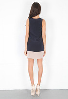 Rory Beca Parry Colorblock Shift Dress in Midnight -