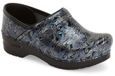 Dansko 'Professional' Patterned Clog