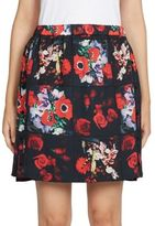 Kenzo Antonio's Floral-Print Cotton Skirt