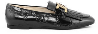 Tod's Tods Loafers In Black Leather