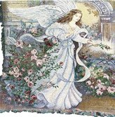 Manual Woodworker Manual Inspirational Collection 50 x 60-Inch Tapestry Throw, Angel of Love