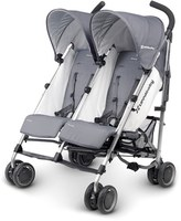UPPAbaby Infant G-Link Pascal Aluminum Frame Reclining Side By Side Umbrella Stroller