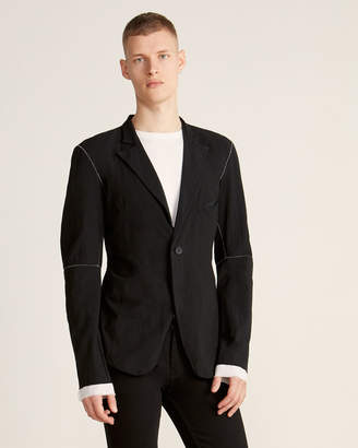 Army Of Me Double Layered Single-Button Blazer