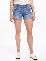 "Old Navy Distressed Boyfriend Shorts for Women (3"")"