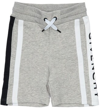 Givenchy Logo Cotton Sweat Shorts