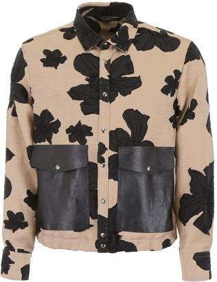 Neil Barrett Contrast Pocket Jacket