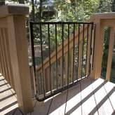 Cardinal Gates Stairway Special Outdoor Gate