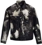 Splattered Paint Denim Jacket
