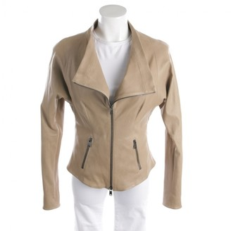 Jitrois Beige Leather Jacket for Women