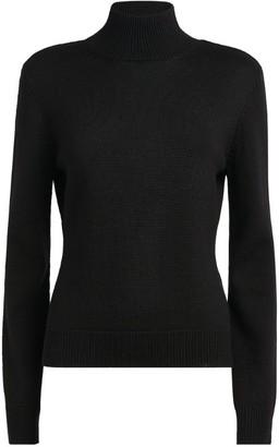 Monse Open-Back Sweater