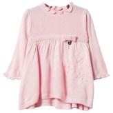 Mayoral Pink Flower Knit Dress