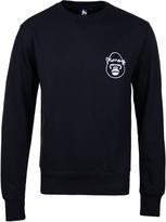 Money Navy George Circle Crew Neck Sweatshirt