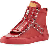 Bally Hekem Patchwork High-Top Sneaker