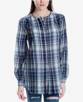Max Studio London Plaid Tunic Shirt, Created for Macy's