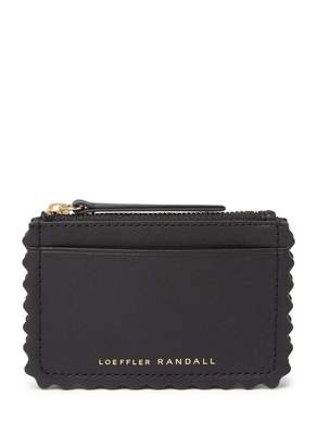 Loeffler Randall Nina Leather Card Wallet