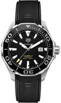 Tag Heuer WAY201AFT6069 aquaracer stainless steel black mens
