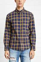Forever 21 Fitted Woven Plaid Shirt