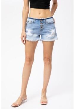 Thumbnail for your product : Kancan Women's Hazel Low Rise Shorts