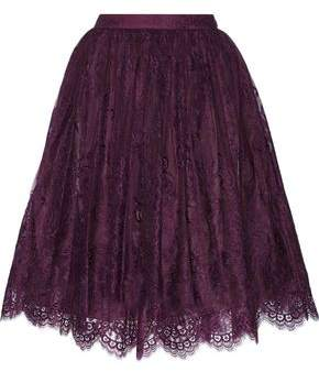 Alice + Olivia Perkins Lace Skirt