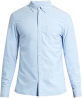 Frame Button-cuff cotton-chambray shirt