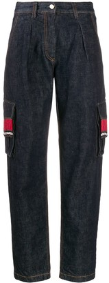 Alanui Beaded Tapered Jeans