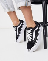 Old Black Sneakers Skool Platform EDWYIH29