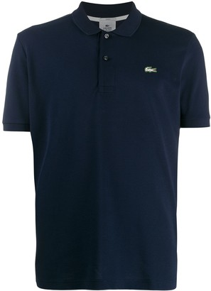 Lacoste Live logo embroidered polo shirt