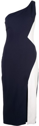 Cushnie Cady one shoulder dress