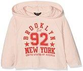 New Look 915 Girl's Brooklyn Logo Hoodie
