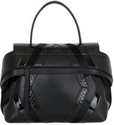 Tod's Wave Leather & Python Bag For Lvr