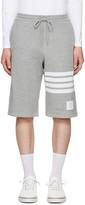 Thom Browne Grey Classic Lounge Shorts