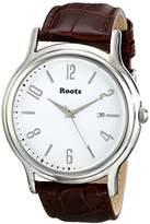 Roots Women's 1R-PR201WH3C Cache Analog Display Japanese Quartz Brown Watch