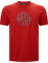 Pretty Green Rindle Logo Crew Neck T-shirt