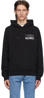 Helmut Lang Black Thanks Standard Hoodie