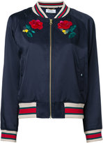 Muveil 'Bow Wow' bomber jacket - women - Cotton/Rayon - 36