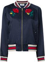 Muveil 'Bow Wow' bomber jacket - women - Cotton/Rayon - 36