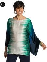 Chico's Silk Kimono Top